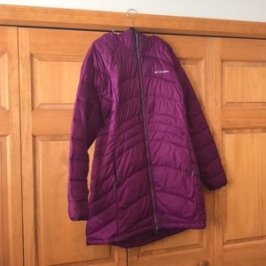 Purple Columbia coat